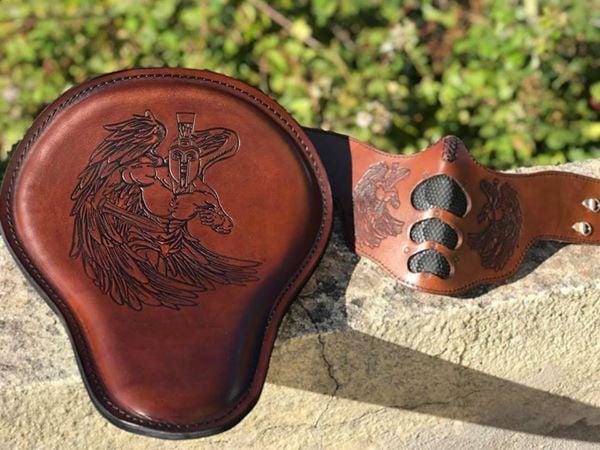 Custom leather shop X&M