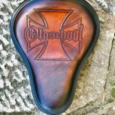 Custom OldSchool Leather Seat