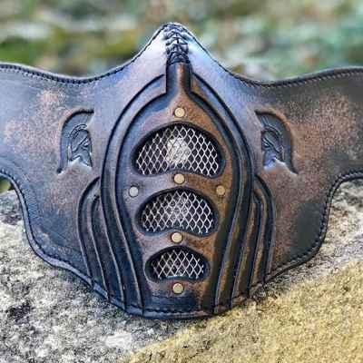Small Spartan Face Shield
