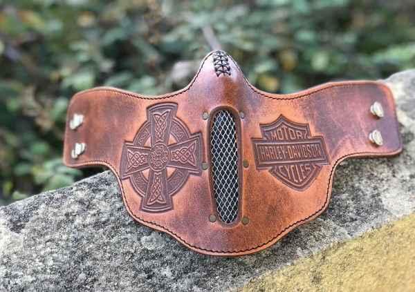 Custom CelticCross & Hery FaceShield