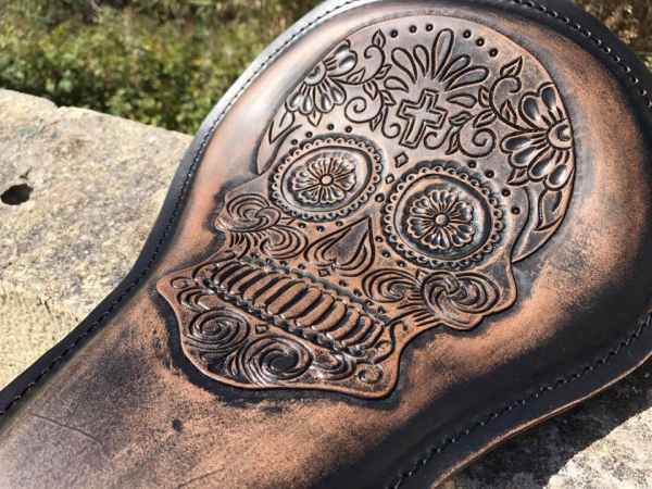 Custom leather shop