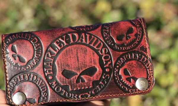 Custom Black&Red Hery Wallet