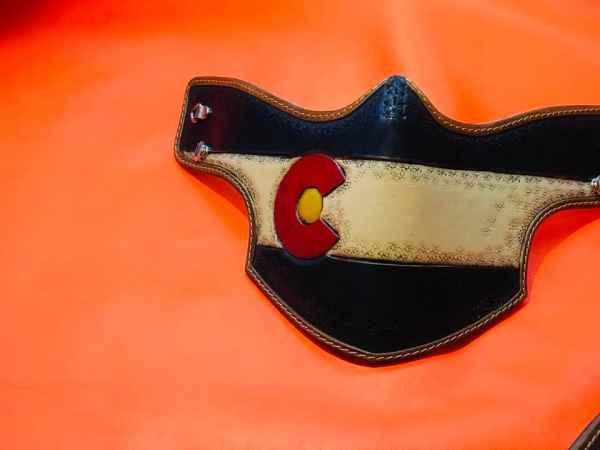 Custom Colorado Face Shield