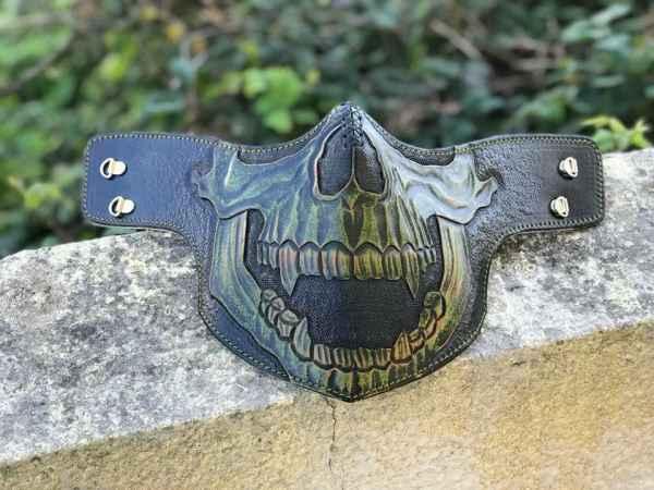 Custom Hulk Face Shield