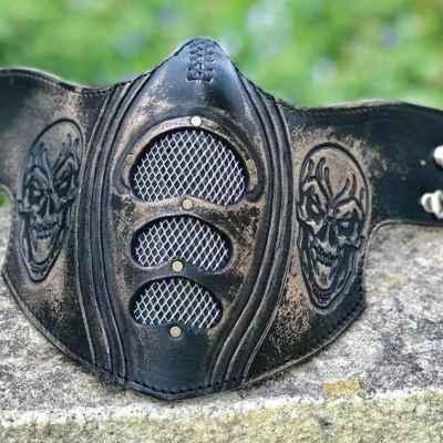 Custom Vintage Face Shield