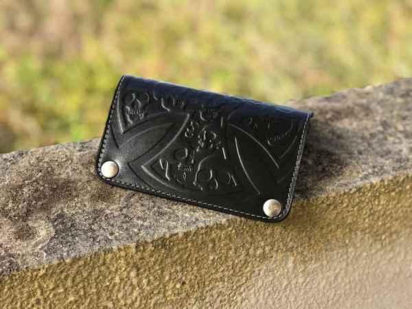 Custom BornForSpeed Black Wallet