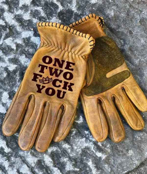 Custom OneTwo Leather Gloves