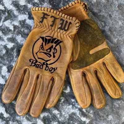 Custom BadBoy Leather Gloves