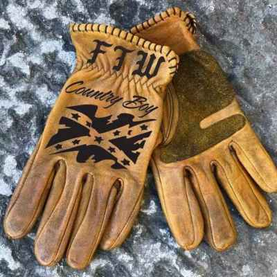 Custom Leather Country Gloves