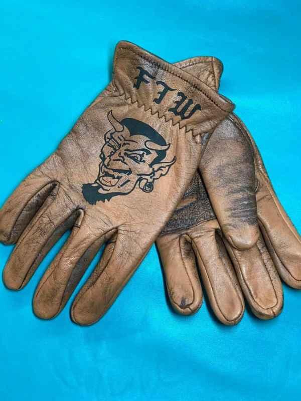 FTW Devil Riding Gloves