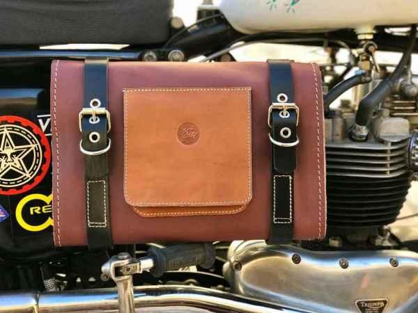 Handmade Leather Tool Roll