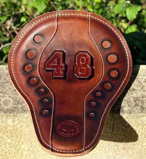 Custom Leather N48 Seat