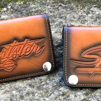 Custom Sportster Brown Wallet