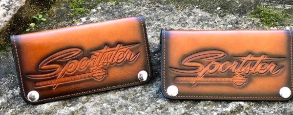 Custom Sportster Brown Wallet
