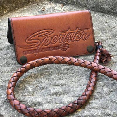 Sportster Custom Brown Wallet