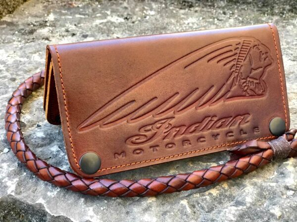 Custom Indian Leather Wallet