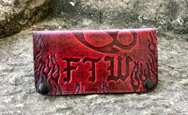 Custom FTW Red Wallet