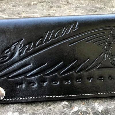 Long Wallet Indian Black